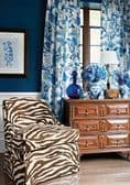 Thibaut Navesink Fabric in Blue and White